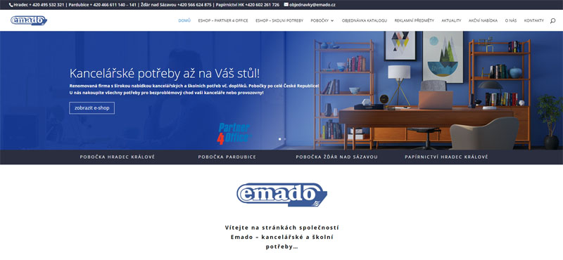 Nové webové stránky