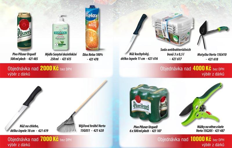 Dárky za nákup zboží
